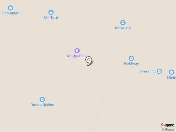 Карат на карте Москвы