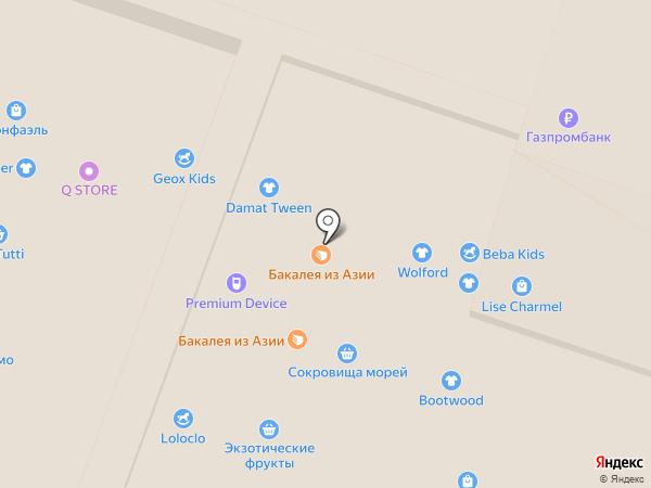 Вкусная помощь на карте Москвы