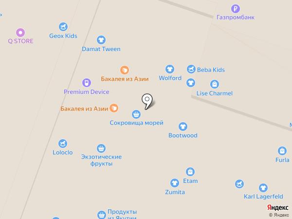 Фуд Сити на карте Москвы