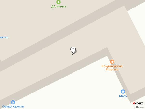 Продовольственный магазин на карте Подольска
