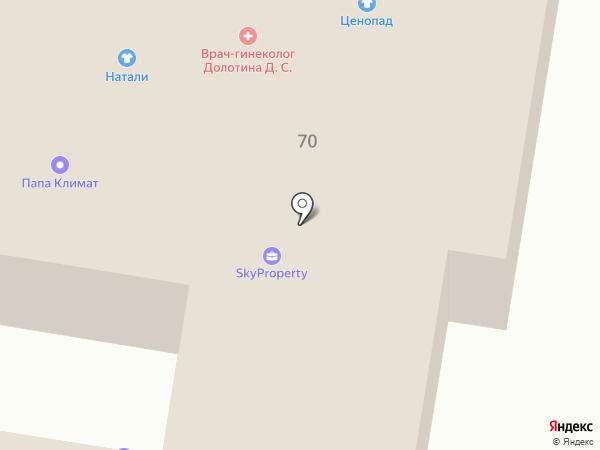 Автопозков на карте Подольска
