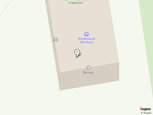 Зенит на карте Подольска