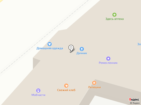 Ремесленник на карте Подольска