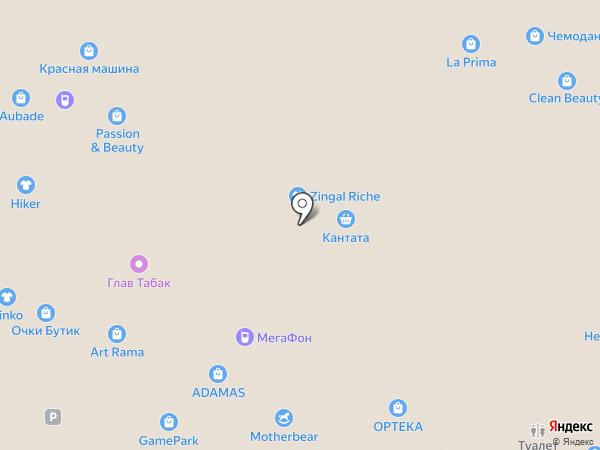 Benta на карте Москвы