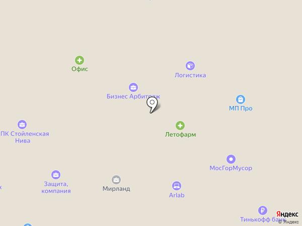 Бэс Карго на карте Москвы
