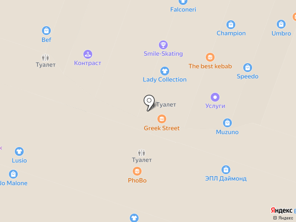 JD Burgers на карте Москвы