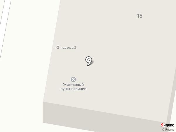 Участковый пункт полиции на карте Подольска
