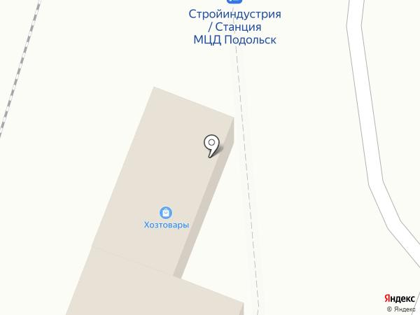 Магазин хозтоваров на карте Подольска