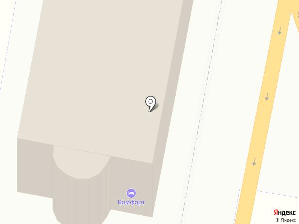 Комфорт на карте Щербинки