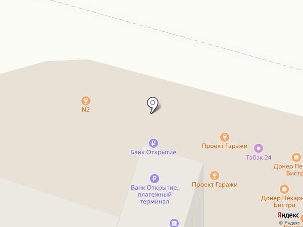 Экспресс Регистратор на карте Москвы