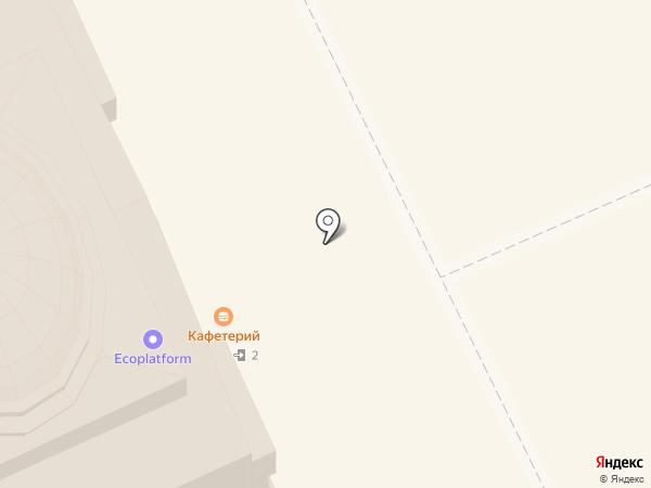 Сытая панда на карте Москвы