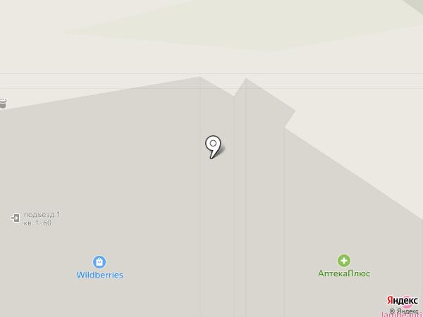 Авоська на карте Тулы