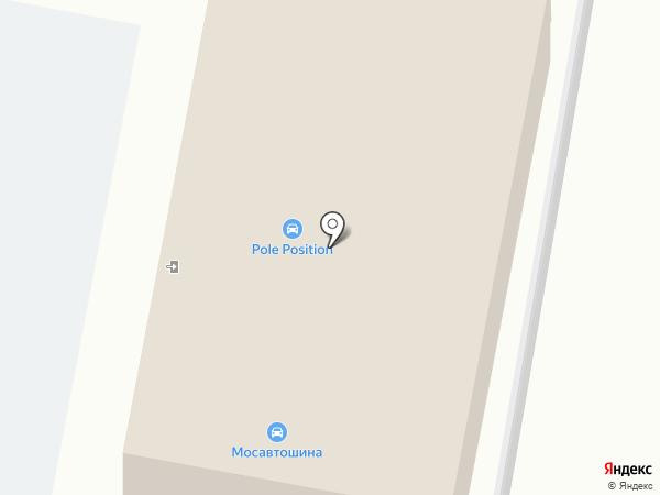Мосавтошина на карте Подольска
