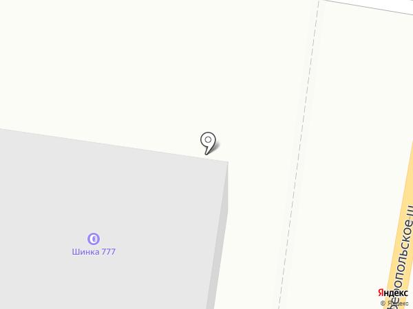 Магазин спецодежды на карте Щербинки