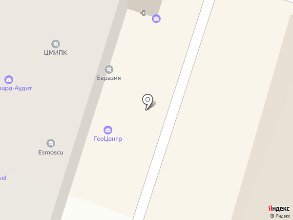 Талантум на карте Москвы