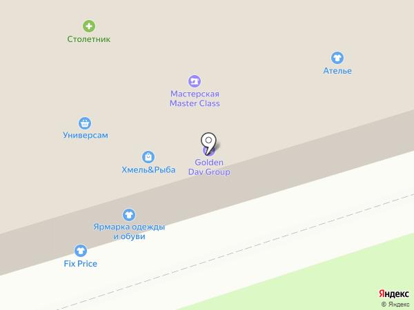 Магазин мужской и женской одежды на карте Москвы