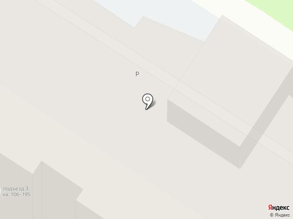 Серебровский на карте Тулы