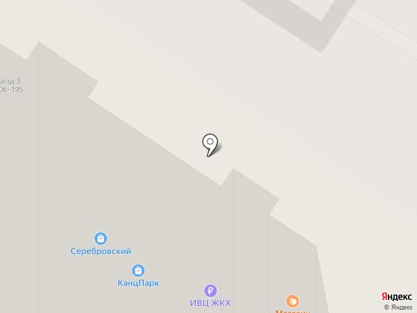 Vобразе на карте Тулы