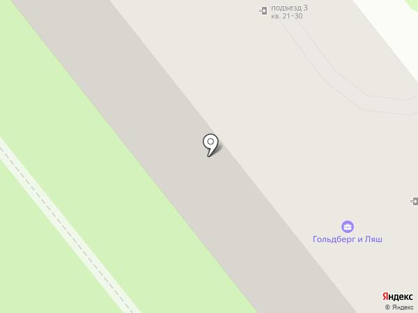 Vинил на карте Москвы