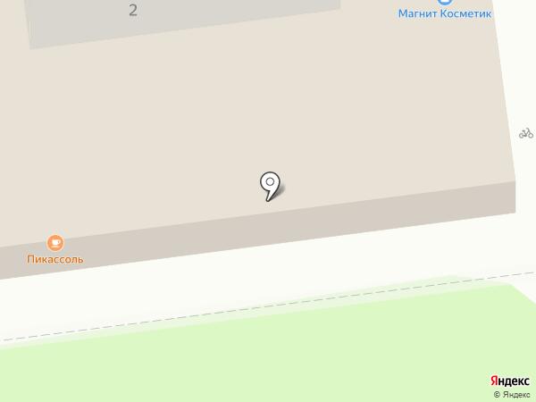 Крепмаркет на карте Москвы