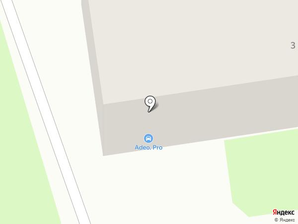 Adeo.pro на карте Тулы