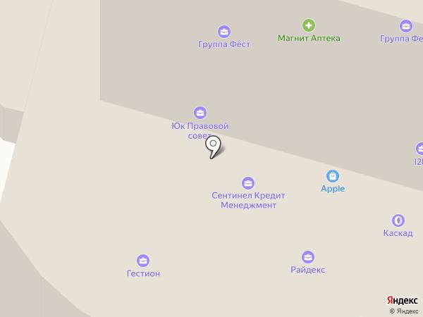 Банкомат, Банк БКФ на карте Москвы