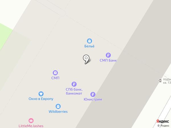 Платежный терминал, СМП Банк на карте Москвы