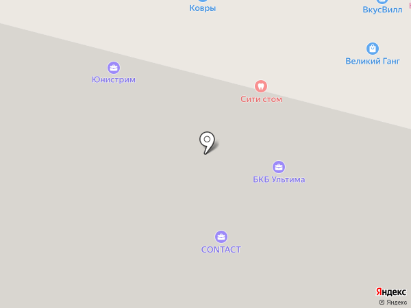 ССВД на карте Москвы