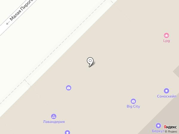 П13 на карте Москвы