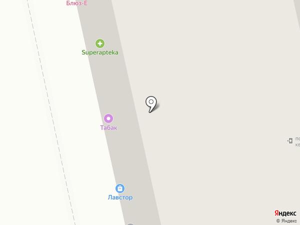 Избёнка на карте Москвы