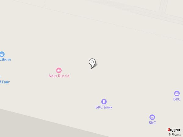 Евроклиника на карте Москвы