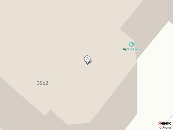 Регион-Информ на карте Москвы