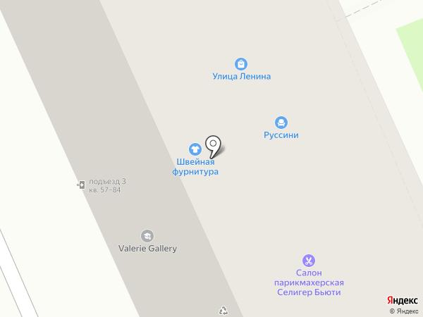 Белорусский Трикотаж на карте Москвы