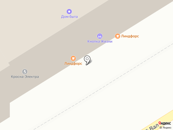 Оргцентр на карте Москвы