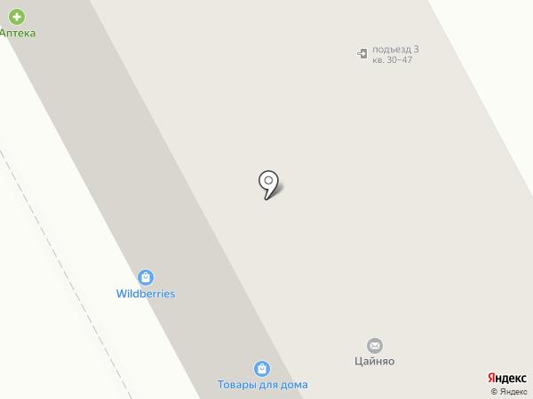 Нива на карте Москвы
