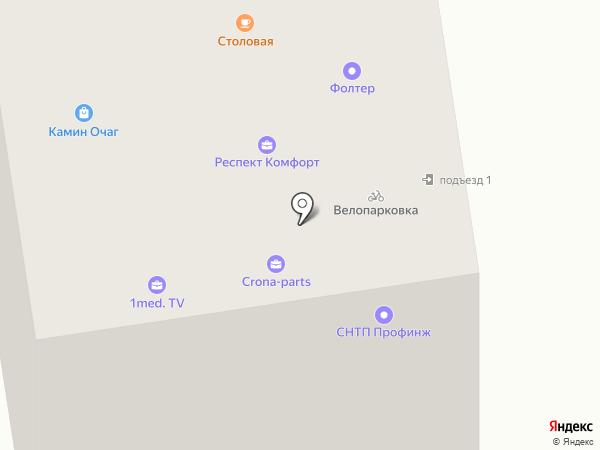 Вектор-Кондвент на карте Москвы