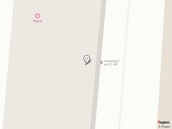Ты со мной на карте Москвы