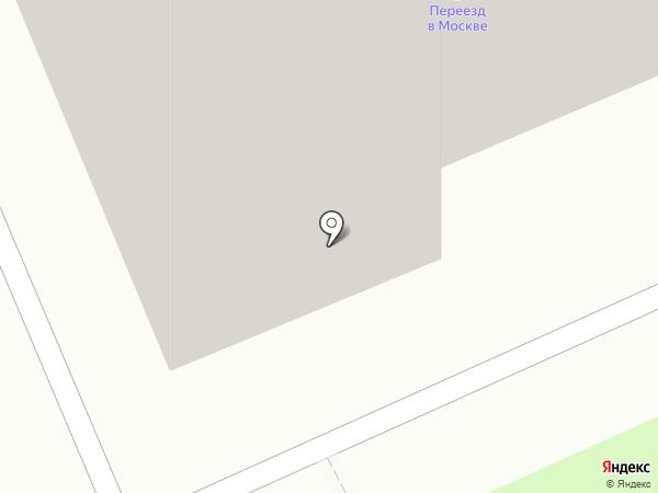 Салон ксерокопии на карте Москвы