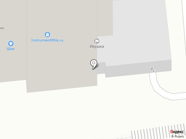 Центр СиЛ на карте Москвы