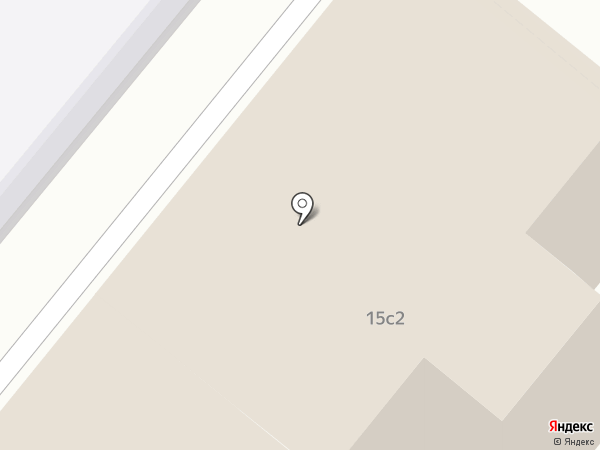 Большевик на карте Москвы