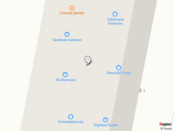 Мясницкий ряд на карте Москвы