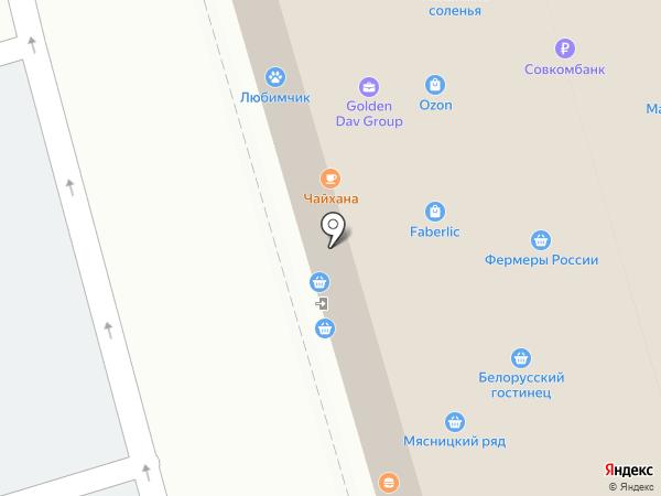 Столичный на карте Москвы