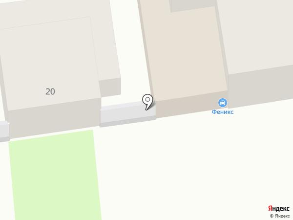 Феникс на карте Тулы
