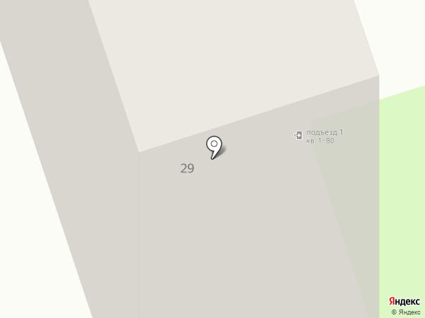 Магнолия на карте Москвы