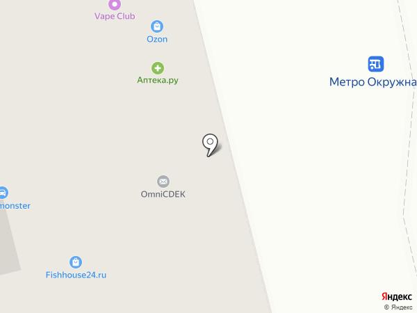 Comepay на карте Москвы