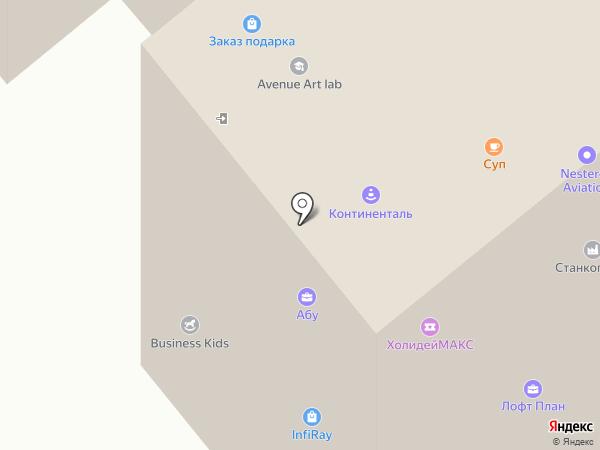 Fabrique на карте Москвы