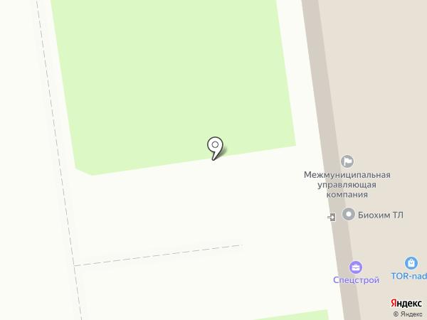 Катро на карте Тулы