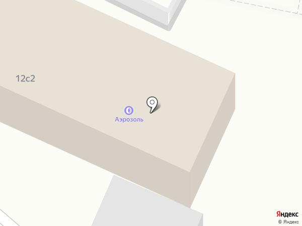 Альфа-Ком на карте Москвы