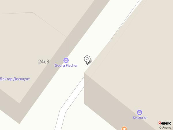 Bowa на карте Москвы