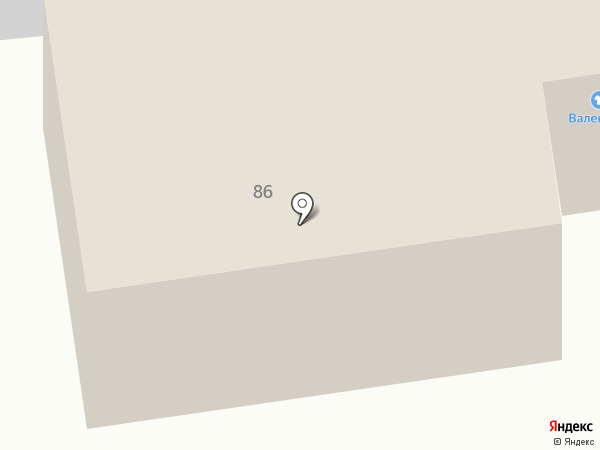 Валентина на карте Тулы
